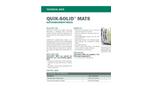 QUIK-SOLID Superabsorbent Media Mats - Technical Data