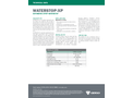 WATERSTOP - Model XP - Synthetic Hydrophilic Polymer Based Strip - Datasheet