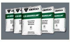 C/S Granular & CETCO Crumbles - Mesh Granular Bentonite