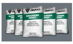 Grounding Grout - Low-Resistance Grout for Utility & Telecommunication Grounding