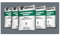 Geothermal Grout - Enhanced Thermally Conductive Grout