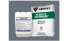 ACCU-Vis & Belle Crumbles - Liquid Drilling Fluid Polymer