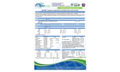 Model ECS-1D - Temporary Single Net Straw Rolled Erosion Control Erosion Blankets Brochure