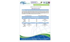 9″ Straw Wattle Agricultural Straw Sediment Retention Fiber Rolls Brochure