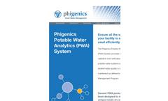 Phigenics - Potable Water Analytics (PWA) System - Brochure