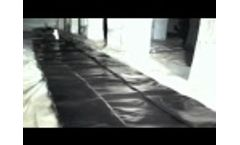 Rainwater Harvesting - A School Harvests Rainwater with the Original Rainwater Pillow - Video