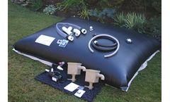 Rainwater Pillow for Rainwater Harvesting