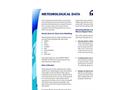 Meteorological Data Tech Sheet (PDF 92 KB)