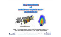 BREEZE Downwash Analyst and 3D AERMOD Plumes Using BREEZE AERMOD with 3D Analyst Brochure