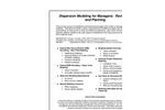 Agenda PDF - Dispersion Modeling for Managers