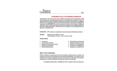 Agenda PDF - Fundamentals of Air Dispersion Modeling