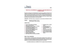 Practical Air Dispersion & Accidental Release Modeling Workshop - International (Seoul, Johannesburg, Lima)- Course Agenda Brochure