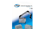 V Series Portable, Stationary and Downdraft Bench Dust Collectors Brochure