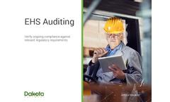 Dakota - EHS Auditing Software  Brochure