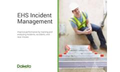Dakota - Incident and Accident Management Software  Brochure
