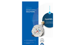 HYDREKA - Model HydrINS 2 - Insertion Flow Meter - Brochure