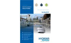 Hydreka SurfaceFLO Non-Contact Radar Flowmeter - Brochure
