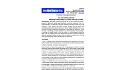 Keeping Grease Systems Trouble Free Brochure