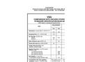 VSG Comparison With Ontario Hydro  Standard Specification M-652-84