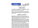 Mineral Oil Content Brochure