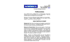 High Particle Count Brochure