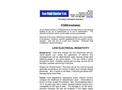Low Electricity Resistivity Brochure