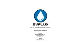 SVFlux Examples Manual