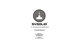 SVSolid Tutorial Manual (PDF 3.921 MB)