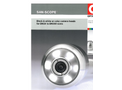 Black & White or Color CAmera Heads for DN20 to DN 300 Sizes- Brochure