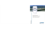 Ultrasonic WeatherStation Instruments 200WX Series- Brochure