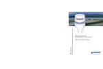 Ultrasonic WeatherStation Instruments 100WX Series- Brochure