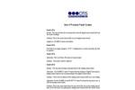 Gen II Product Fault Codes- Brochure