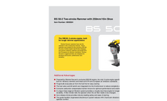 Vibratory Rammer BS 50-2 Two-stroke Rammer Brochure