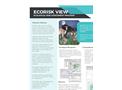 EcoRisk View - Ecological Risk Assessment Program Software - Brochure