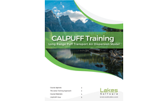 CALPUFF Training Brochure