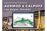 Calpuff Training Course - Las Vegas, NV