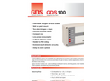 GDS - 100 - Single Point Gas Alarm - Datasheet