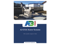 A3 - Channel Screw Screen Brochure