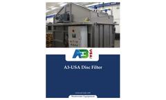 A3 - Disc Filters Brochure