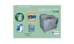 Model G-30H - Optimise Food Waste Management Datasheet