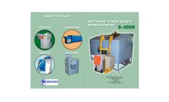 Model G-400H - Optimise Food Waste Management Datasheet