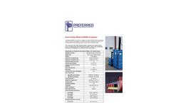 Model DC5000-18 - Gasoline Drum Crusher Datasheet