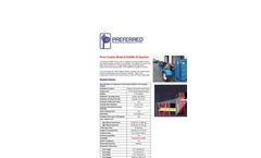 Model DC6000-18 - Gasoline Drum Crusher Datasheet