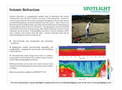 Seismic Refraction  Services- Brochure