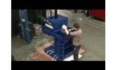 BTS-MF60hd PET- / Dosen-Presse / PET- / Can Crusher - Beckmann Technik & Service - Video
