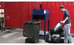 BTS-240l Müllverdichter / Bin Compactor - Beckmann Technik & Service KG - Video