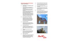 StealthGen - Direct-Drive Wind Generator - Brochure
