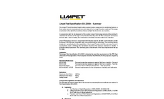 Limpet - Model E5 - Multifunctional Height Safety System Brochure