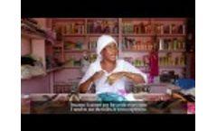 Sanitation and Hygiene in Public Spaces for Women: Kaffrine Market, Senegal Video