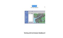 Working With The Emission Database (EDB) Brochure